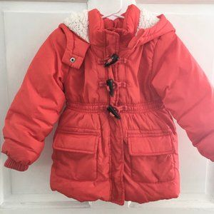 TODDLER Old Navy Hooded Puffer Jacket SIZE 3T